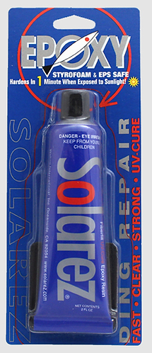 Solarez Epoxy Ding Repair 2oz Tube
