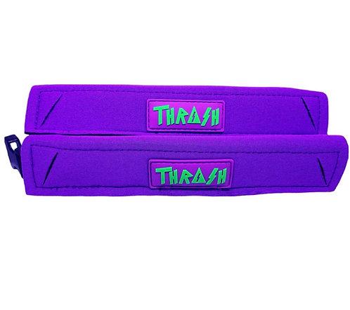 Thrash Fin Tether Heel Pad Purple