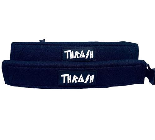Thrash Fin Tether Heel Pad Blac/White
