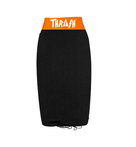 Thrash Black/Orange Stretch Cover