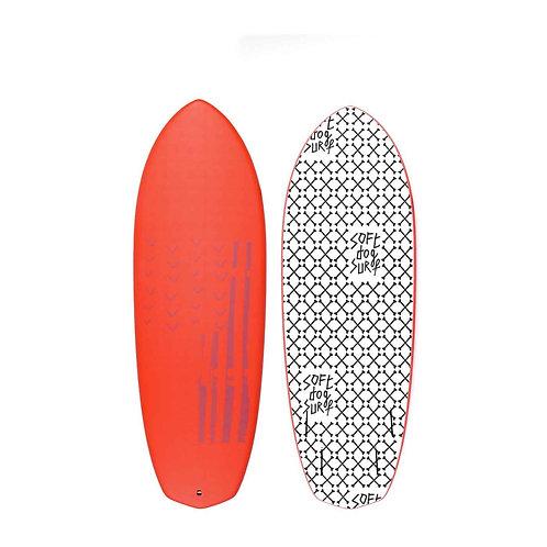 2021 Soft Dog Greyhound 5'8 Soft Top Surfboard