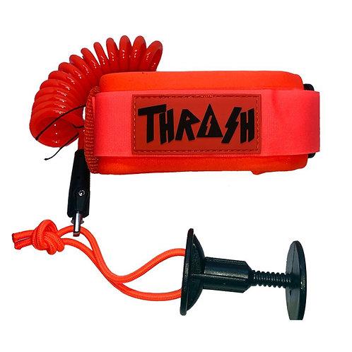 Thrash Bicep Leash Orange