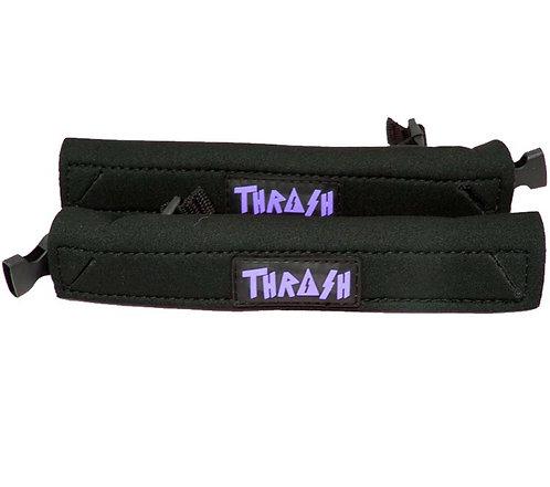 Thrash Fin Tether Heel Pad Black/Purple