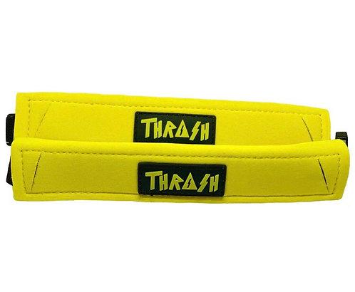 Thrash Fin Tether Heel Pad Yellow
