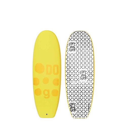 2021 Soft Dog Doberman 5'4 Soft Top Surfboard