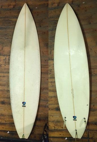 "Rebound Custom 7'1"" Thruster Surfboard"