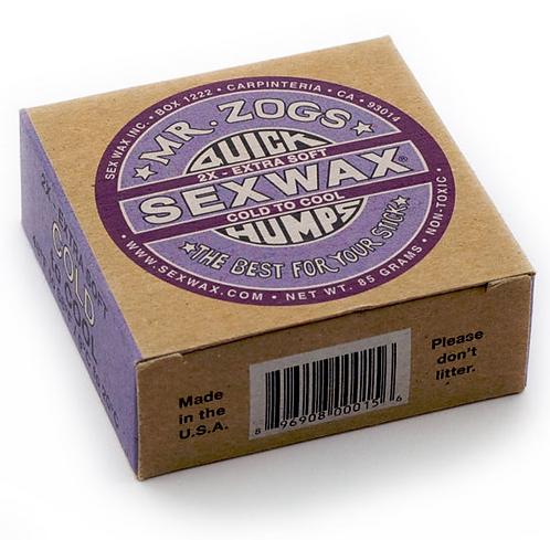 Sex Wax Cold-Cool Surf Wax (9-20 degress) x 4