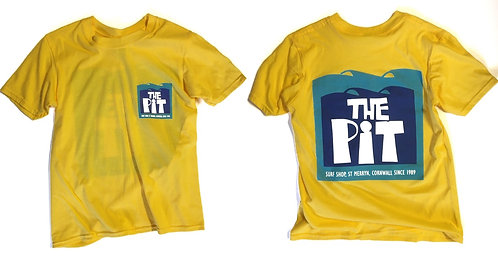 The Pit Surf Shop Youth T-Shirt (Various Colourways)