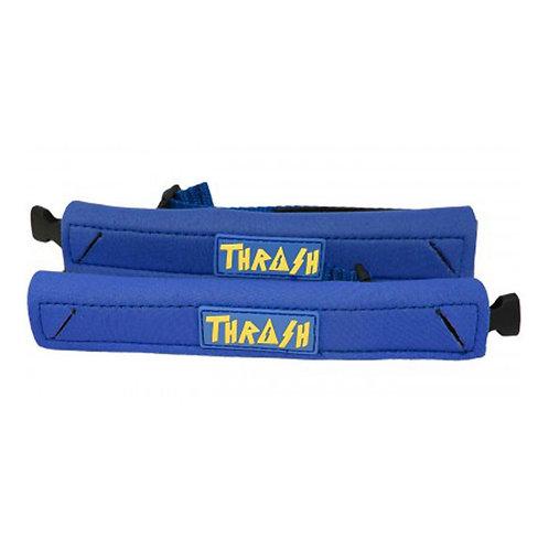 Thrash Fin Tether Heel Pad Blue
