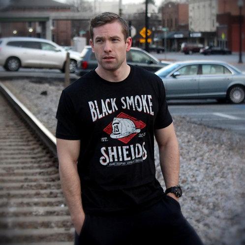 Vintage Black Smoke Shields shirt