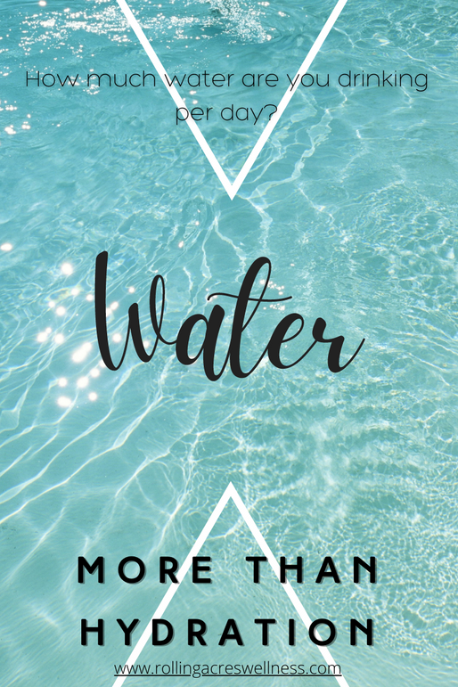Water – It's more than Hydration
