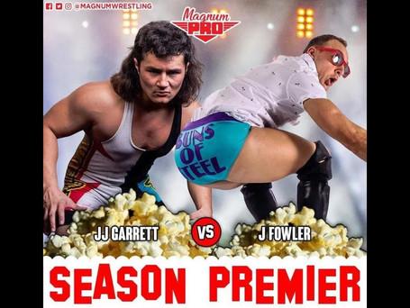 JJ Garrett v J Fowler (Full Match)