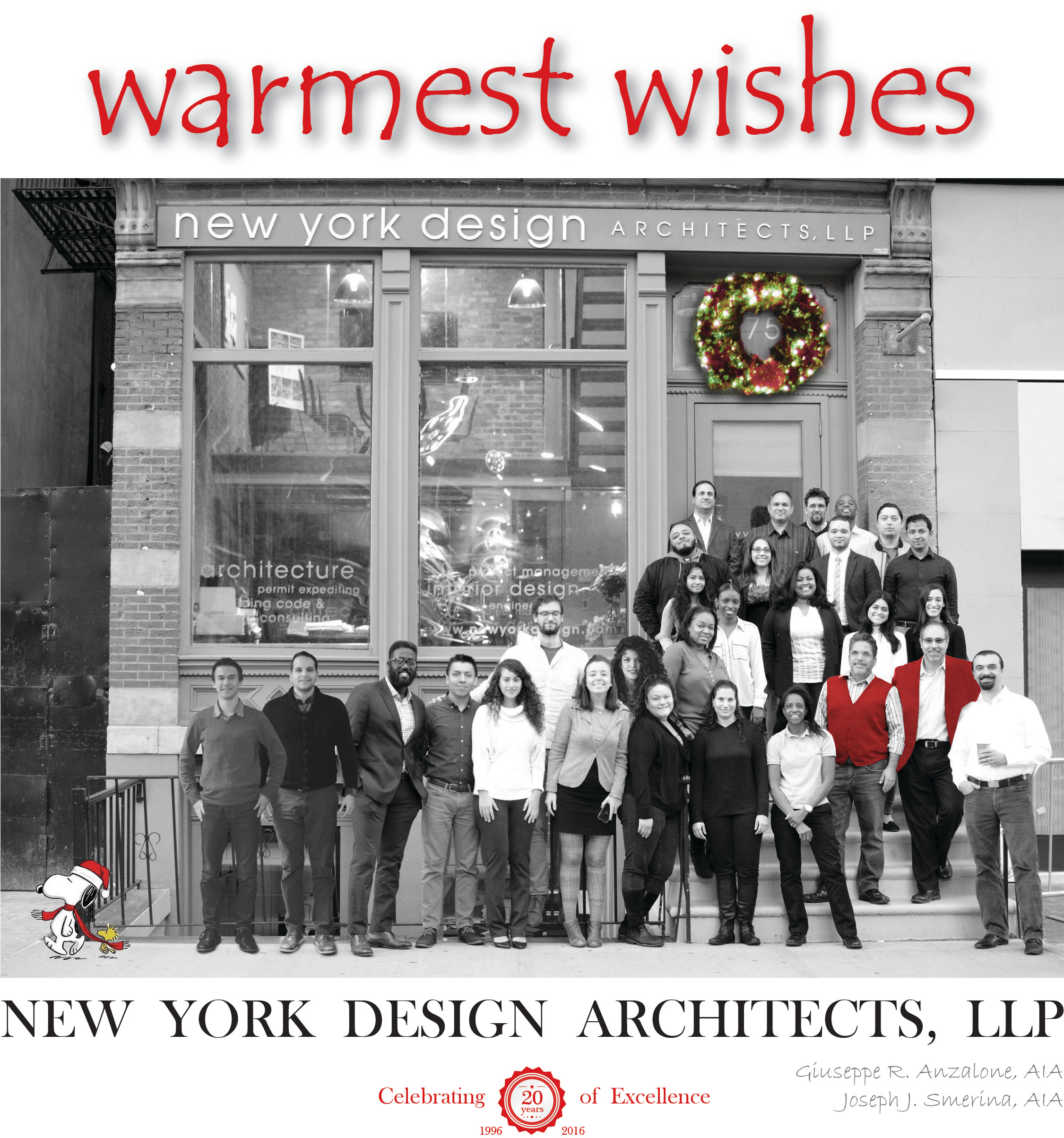 New York Design Architects Llp Joseph Smerina Giuseppe Anzalone