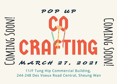 Co-Crafting on 27 March