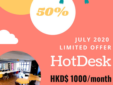 Hot Desk Starting from $1000/month