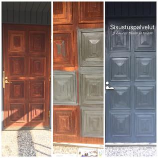 Ulko-oven muutos