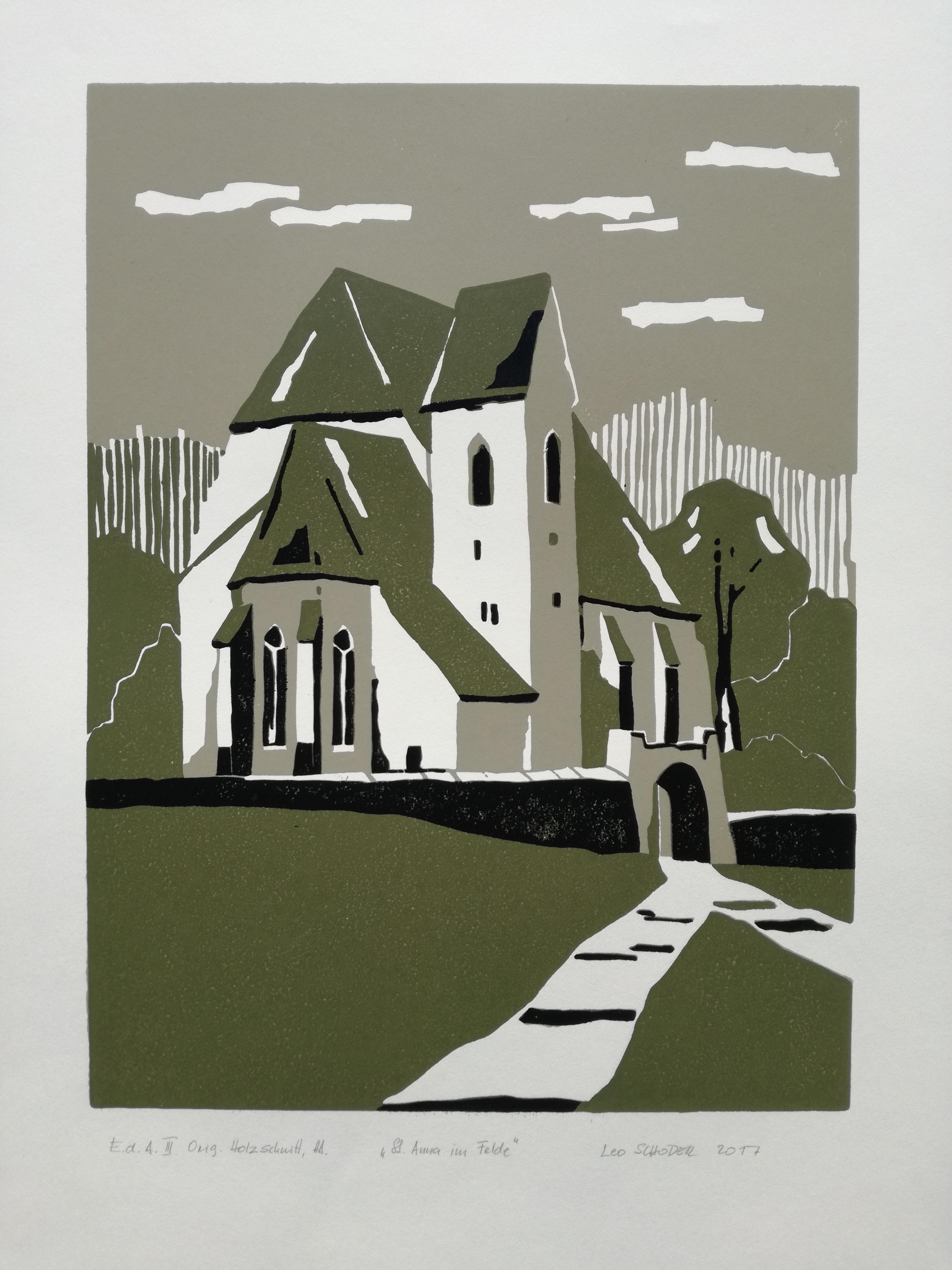 St Anna Holzschnitt
