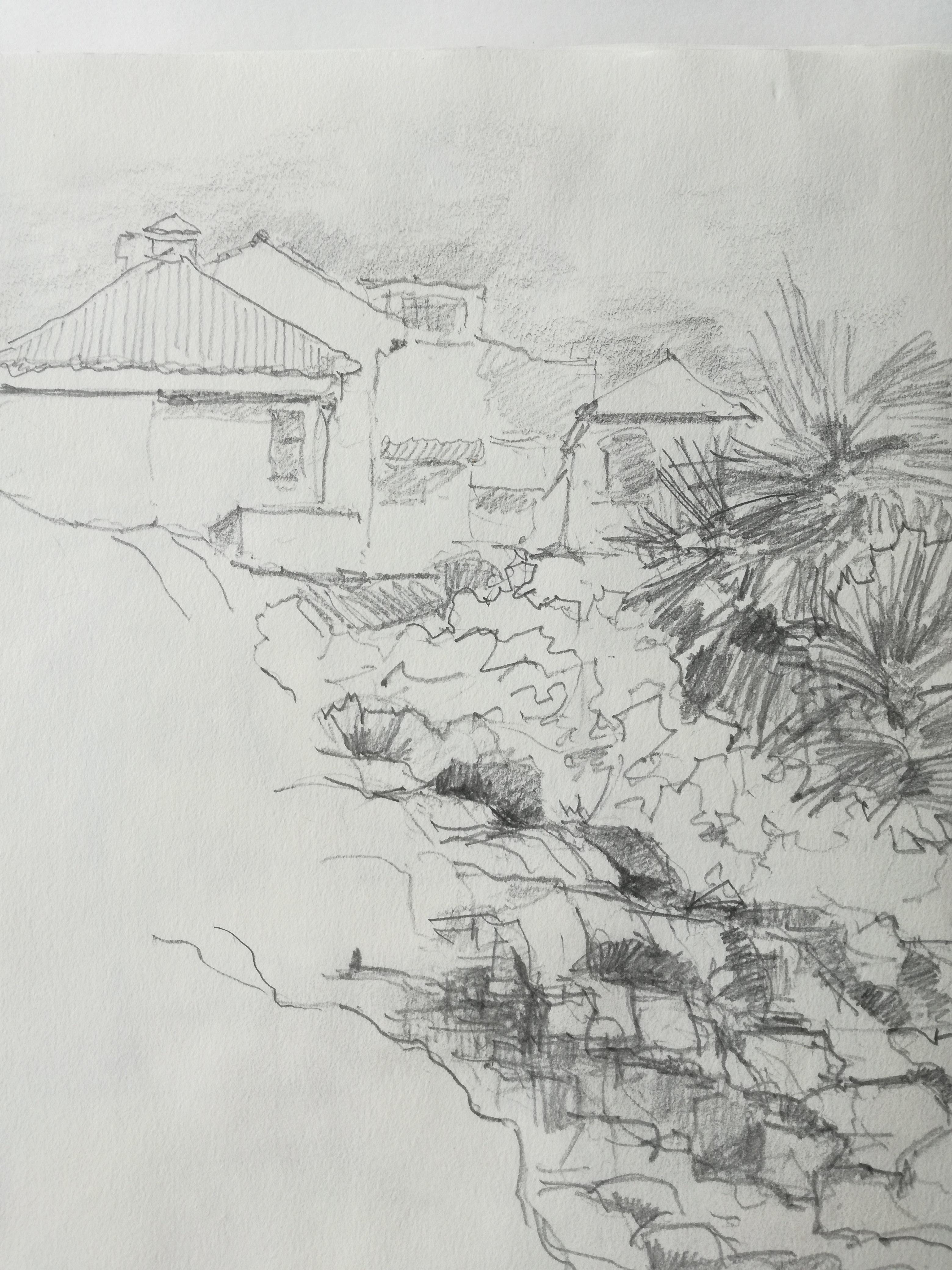 Leo Schoder EL-Cotillo Fuerteventura Bleistift