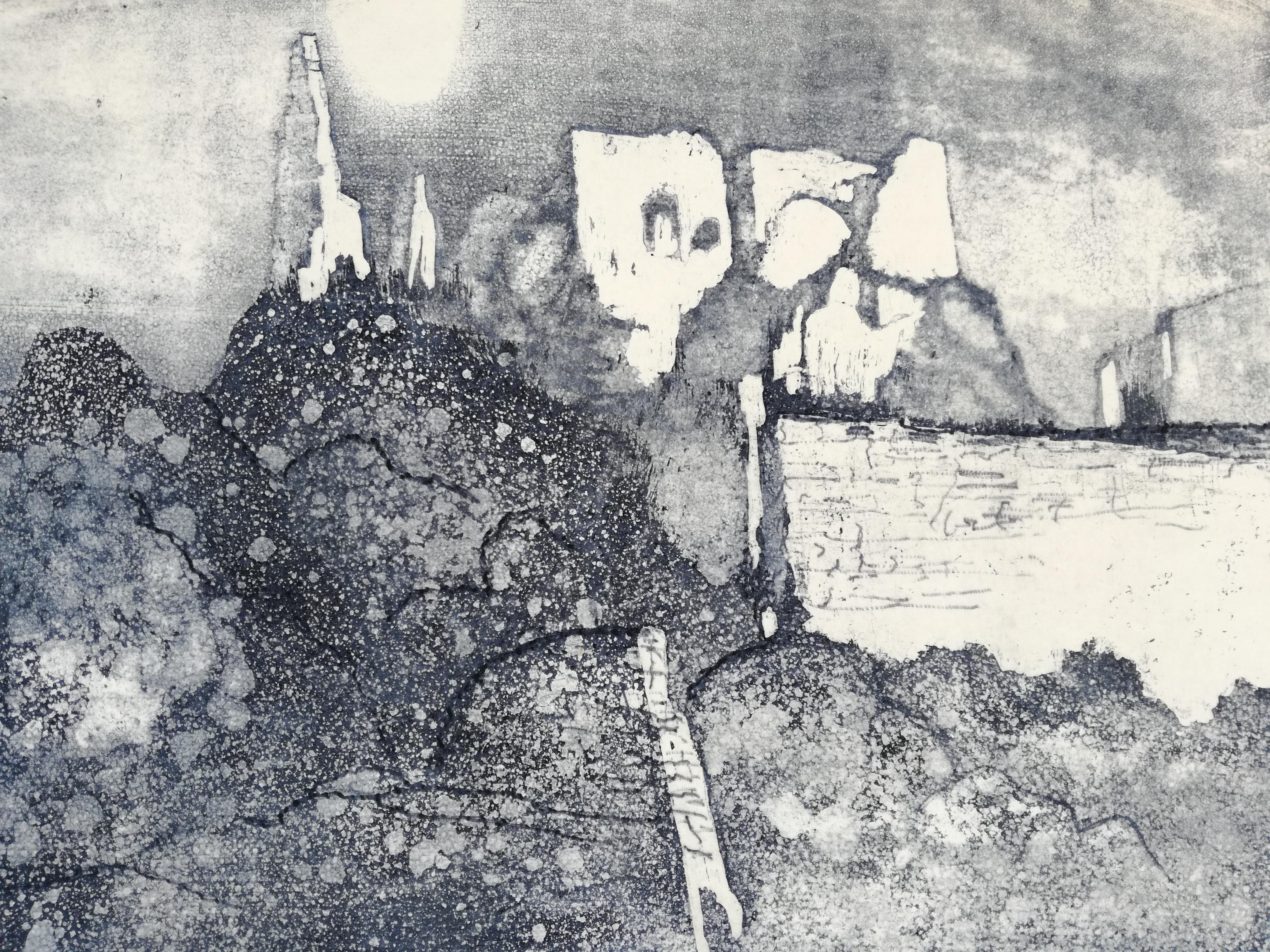 Ruine_Dürnstein_Radierung