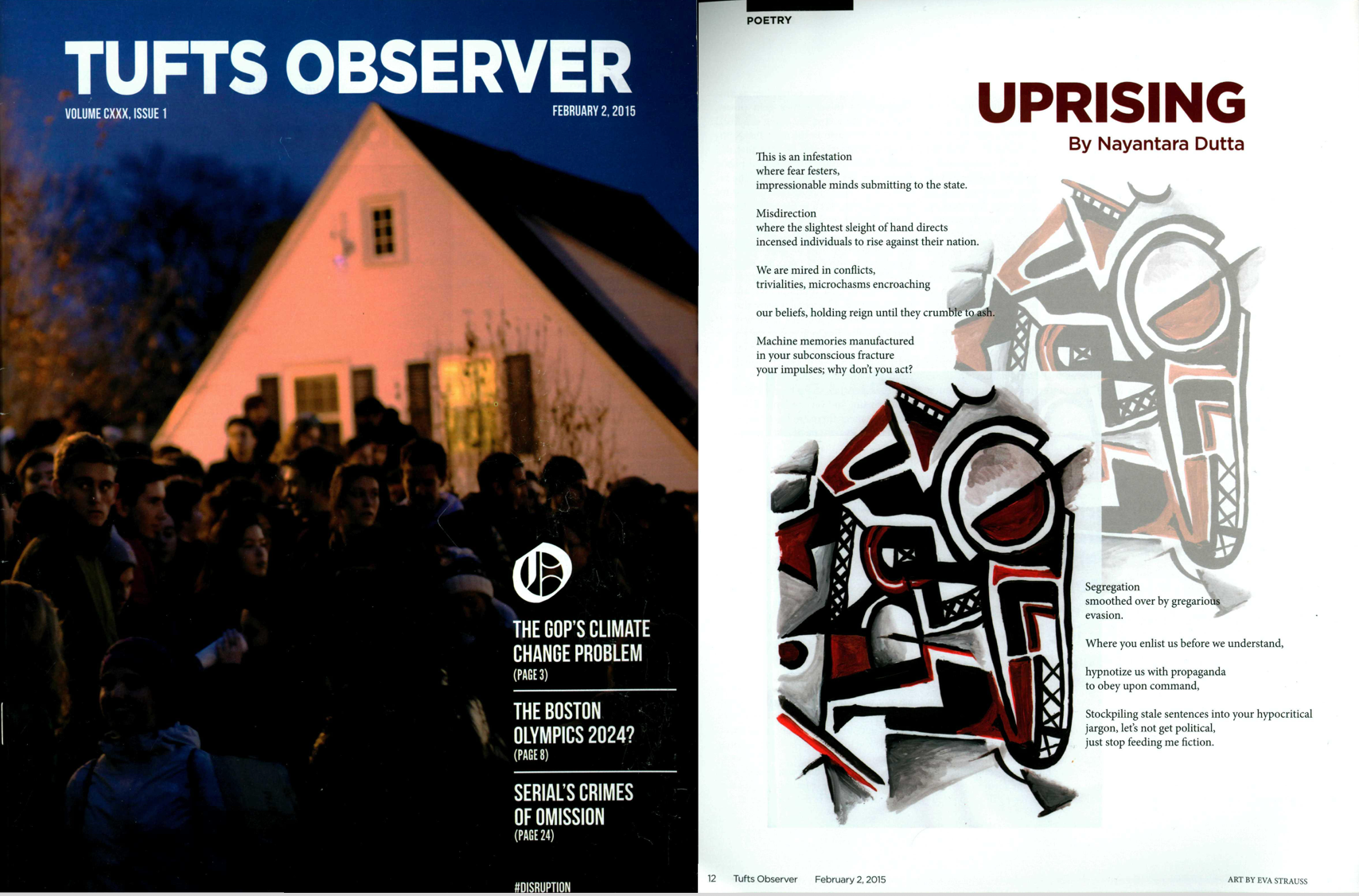 Uprising - Tufts Observer