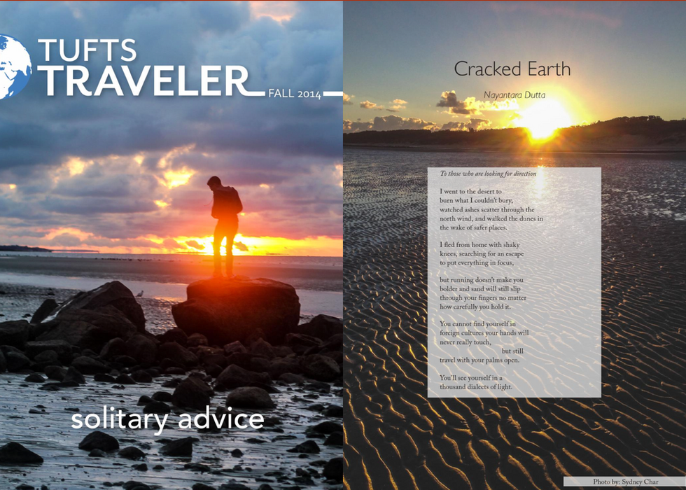 Cracked Earth - Tufts Traveler