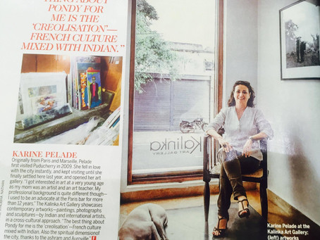 Kalinka Art Gallery in Femina magazine