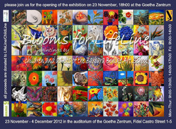 exhibition Blooms for LifeLineChildline