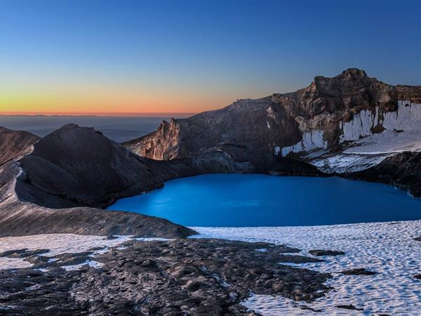Mt Ruapehu Crater Lake - from National Parks website