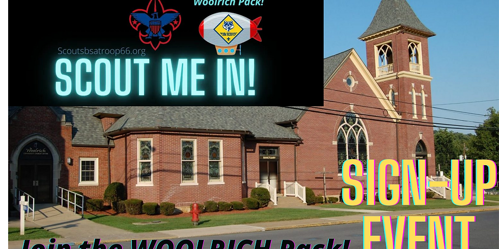 Woolrich Church Open House & Woolrich Cub Scout Pack Sign-Up Event