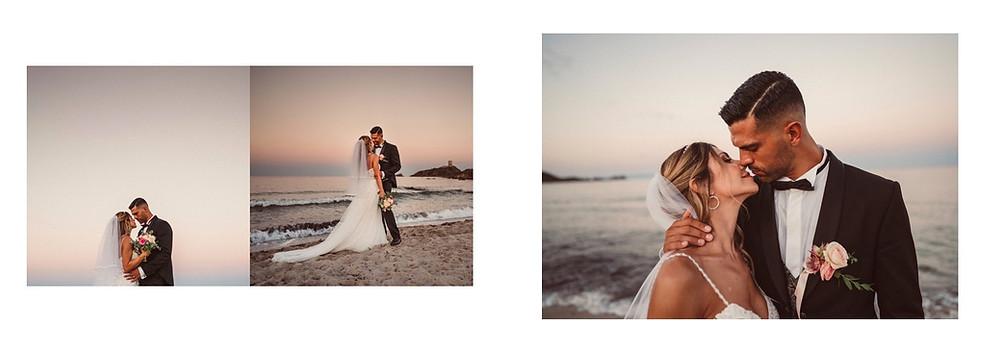 matrimonio in spiaggia Sardegna Pula Nora
