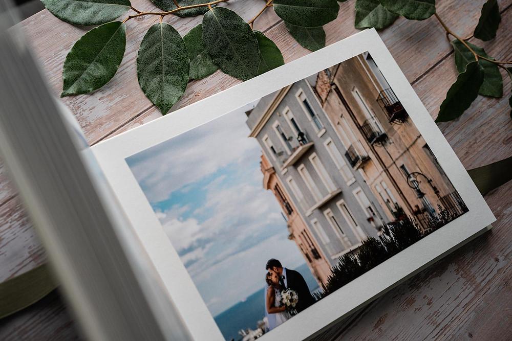 album di matrimonio esempio foto incollate Cagliari Sardegna