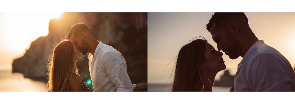 fidanzati, matrimonio, servizio fotografico a Masua Pan di Zucchero Sardegna, prematrimoniale fotografico Sardegna, momenti romantici