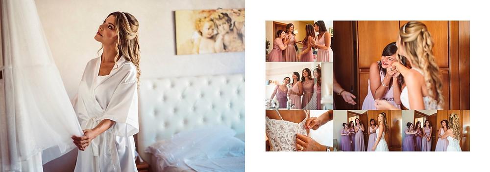 reportage matrimonio sardegna, matrimonio a Gonnesa, fotografie di matrimonio spontanee, ritratto fotografico bianco e nero, preparativi della sposa
