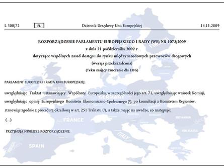 Przepisy kabotażowe w UE na przykładzie Danii, Francji i Niemiec