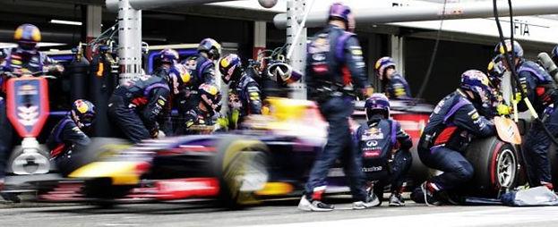 Zgrany team jest ważny nie tylko w Formule I