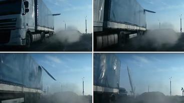 Lód na dachu ciężarówki. Jakie obowiązki, jakie możliwości i jaka odpowiedzialność?