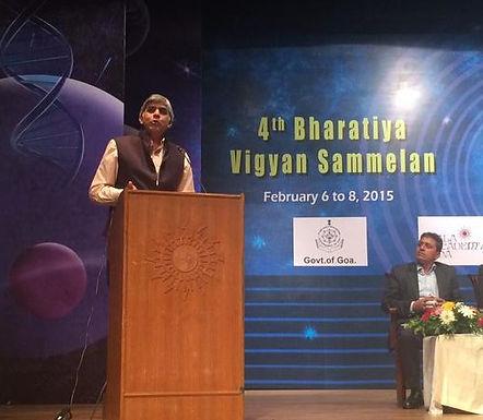 Amit A. Vernekar wins the BVS2015 Oral Presentation Prize