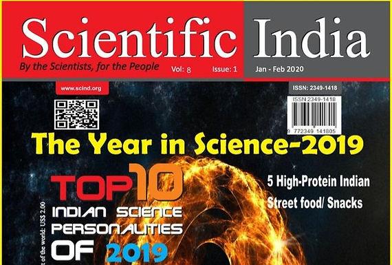 Top 10 Indian Science Personalities of 2019