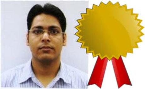 Bani Kanta Sarma receives best thesis award