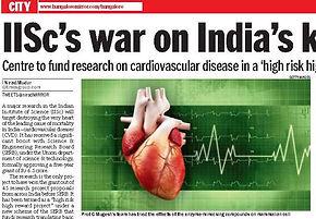 IISc's war on India's killers: Cancer, CVD