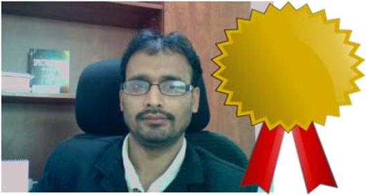 Gouriprasanna Roy wins Best Thesis Prize