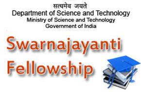 Mugesh wins Swarnajayanti Fellowship for the year 2006-07