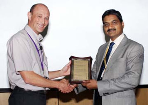 Mugesh wins AstraZeneca Excellence in Chemistry Award