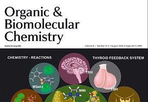 Mugesh joins the Editorial Board of Organic & Biomolecular Chemistry