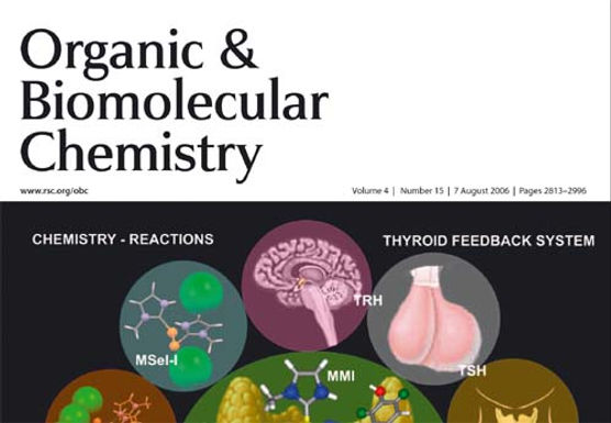 Cover Page in Organic & Biomolecular Chemistry