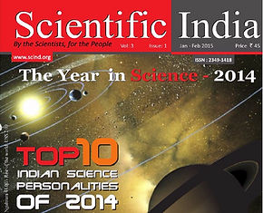 Mugesh is in the list of Top 10 Famous Indian Science Personalities