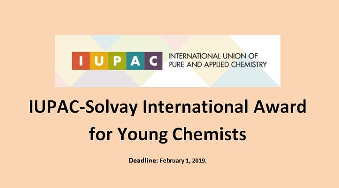 Namrata Singh selected for the IUPAC-SOLVAY International Award