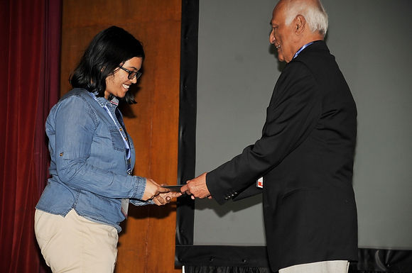 Tandrila Das Wins the RSC Best Poster Prize at ICMG-2016