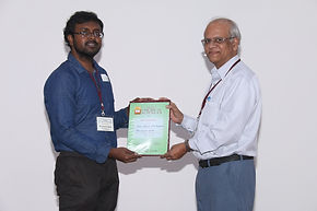 Sourav Ghosh has been awarded a Poster Prize at the CRSI-NSC-23