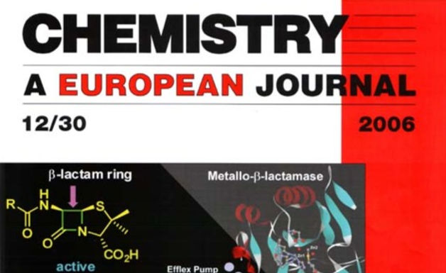 Cover Page in Chemistry - A European Journal